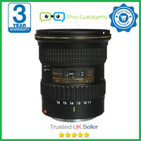 Tokina AT-X 116 PRO DX-II 11-16mm f/2.8 Lens for Nikon Mark 2 - 3 Year Warranty
