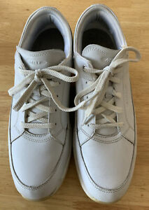 MBT mens leather walking shoes White Swiss physiological UK9 Excellent Condition