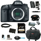Canon EOS 7D Mark II Digital SLR Camera (Body Only) w/ 64GB Deluxe Accessory Kit