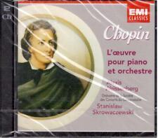 Chopin: Música para planificar y orchestra (Conciertos Etc/Alexis Weissenberg CD
