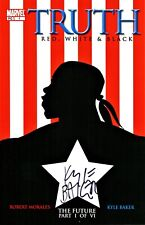 Truth #1 Red , White & Black Signed By Artist Kyle Baker