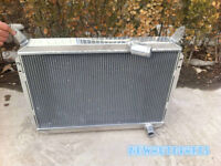 3 Row Aluminum Radiator For Nissan 300ZX 3.0L V6 1984-1989 1985 1986 1987 1988