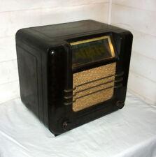 TSF UNIC RADIO en bakélite de 1937 prod Ribet et Desjardins fonctionne