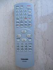 TOSHIBA DC-FN20S TV DVD VHS REMOTE CONTROL ORIGINAL MD20P1, MD19N1, MD13N3