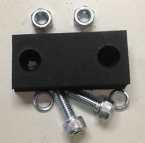 SEAT TO SPRING BUMPER (RUBBER), NUTS & BOLTS; FOR MASSEY FERGUSON TRACTORS