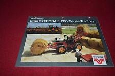 Versatile 256 276 Tractor Dealer's Brochure DCPA2