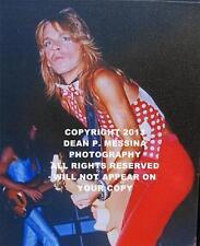 Custom Randy Rhoads 16X20 Canvas Personally Shot Photo Signed Photographer Ss2