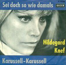"""HILDEGARD KNEF - FUE DOCH SO WIE DAMALS 7"""" SINGLE S8854"""