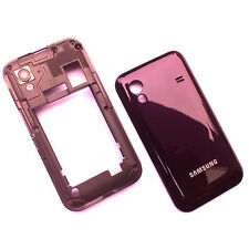 100% Genuine Samsung Galaxy Ace S5830 side housing+rear battery cover purple