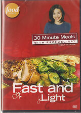 FOOD NETWORK RACHAEL RAY FAST AND LIGHT (DVD, 2007) NEW