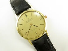 VINTAGE UNIVERSAL GENEVE GOLDEN SHADOW 18K Automatique Or Massif Ultra Slim watch