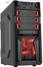 Custom Built Desktop Gaming PC 8GB RAM 1TB Computer System Quad Core CPU New PC