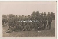 WW1 Soldiers Vintage RP Postcard E Abrahams Burton On Trent Staffordshire  196c