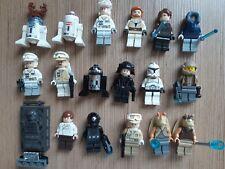 Lego star wars figurine personnage minifigure, lot à l'unité, modèle au choix