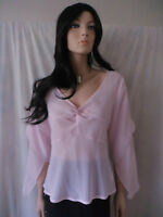 TOGETHER Pale Pink Top Sz 12 BNWT rrp $69.95