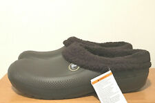 BRAND NEW MEN'S CROCS III LINED LINED CLOGS - SIZE 13