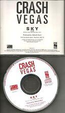 CRASH VEGAS Sky 1989 PROMO Radio DJ CD single MINT PRCD 3471