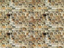 Vollmer 47363 ESCALA N, Placa de Pared Arenisca 25x12, 5cm 1qm =