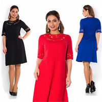 Womens Party Evening Sexy Pencil Celebrity Dress Summer cocktail Plus Size UK
