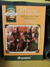 Homespun 121 Favorite Irish Session Tunes w/ 4 CD's - L.E. McCullough
