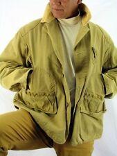 Hunting Duxbak Tan Cotton Canvas Briar Coat Upland Bird Cover Jacket Men's M H5