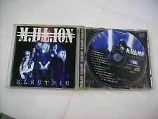 M.ILL.ION - ELECTRIC - CD EXCELLENT CONDITION 1998 - BLUESTONE RECORDS