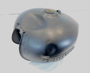 Triumph America & Speedmaster Black Gas Petrol Fuel Tank Reservoir Cell - Dent