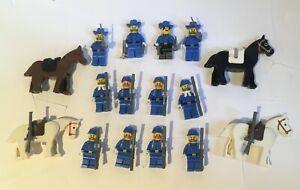 Lego Western Fort Legoredo American Civil War ACW Minifigures x12 JOB LOT