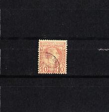 MONACO  prince Charles III     10c   lilas-brun    num: 4   oblitéré