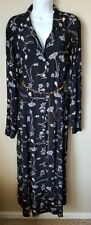 Carol anderson Long Sleeve Maxi Floral Dress Size 16