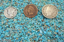 Crushed NATURAL Turquoise Inlay Material  1/2 ounce chips for wood, stone