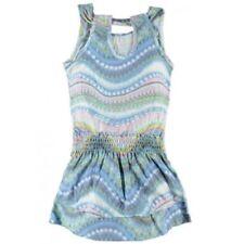 VINGINO Sommer Kleid Blau Gr. 128 8  (GE21)