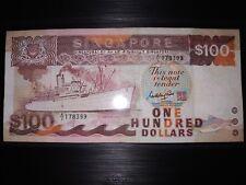 Singapore Ship $100 A1 prefix note