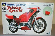 Suzuki GSX400F Fairing Special *-* Aoshima 1/12 Motorcycle Kit