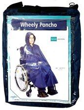 Simplantex Wheely Poncho | Rollstuhl Poncho Navy | Einheitsgröße