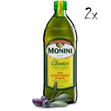2x Monini Extra Natives Olivenöl 1L nativ olio extravergine di oliva Classico