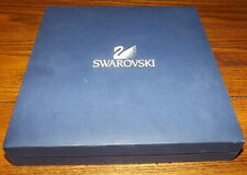 Swarovski Crystal necklace and earring set in box