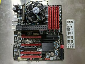 Evga X58 Classified Mobo w/ Intel i7-950 & 12Gb Ram