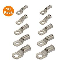 10 x Crimp or Solder Battery Lug Terminals for a 16mm² Cable with 8mm Bolt Hole