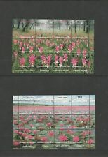 Stamps collection  MINT  Thailand sets  2 complete sheets  #626