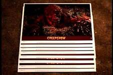 CREEPSHOW 1982  11X14 LOBBY CARD SET GEORGE ROMERO STEPHEN KING CLASSIC HORROR