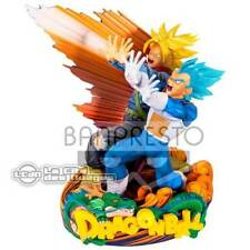 DRAGON BALL SUPER - The Brush DIORAMA II - MSP Vegeta & Trunks 20cm BANPRESTO