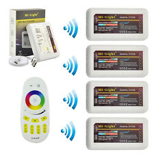 Milight 2.4G LED WiFi iBox Wireless Touch Remote 4-Zone RGBW RGB LED Controller