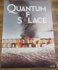 Quantum Of Solace Poster James Bond 007 36 X 50 Inches Blockbuster 2 Piece
