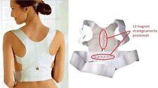 Tutore Fascia Magnetica Postura Donna Uomo Supporto Spalla Schiena Posturale L 1