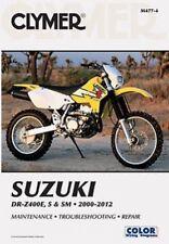 Manuales de motos DR Suzuki