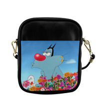 New OGGY AND THE COCKROACH Sling Bag Crossbody Shoulder Casual Bags