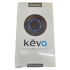 Kwikset Kevo 2nd Gen Touch-to-Open Bluetooth Smart Lock Bronze