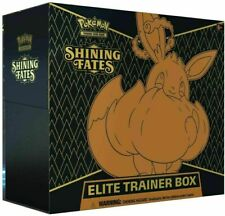 Pokemon Shining Fates Elite Trainer Caja ETB Sellado Pre Orden se envía 2/19/21
