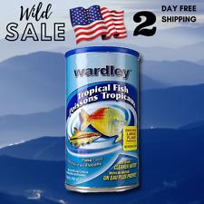 Fish Tropical Wardley Food Flakes Flake - 6.8 oz Ounce Advanced Nutrition Feeder
